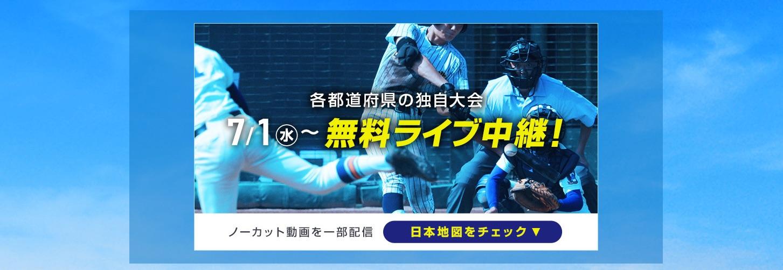 野球 中継 ライブ 高校 バーチャル